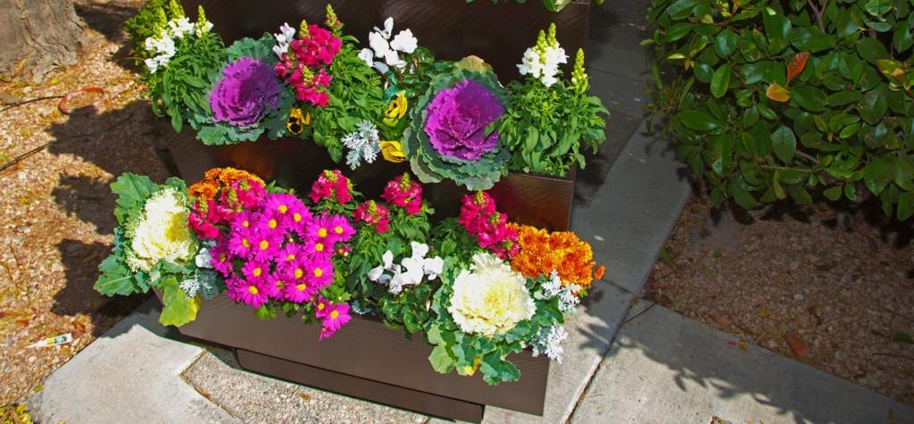 Mobilegro three-tier planter CREDIT: Courtesy Company