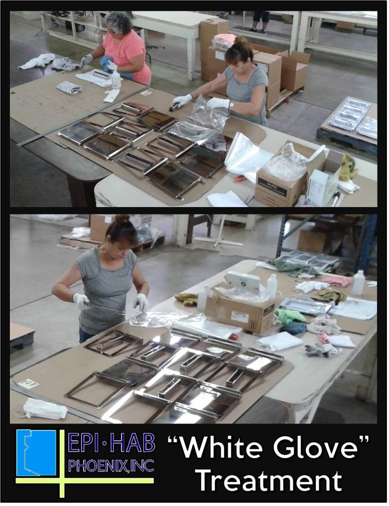 9 -- white glove
